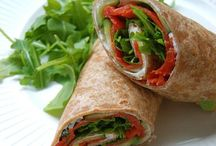 Delicious & Healthy Wraps, Flatbreads & Pitabreads / All delicious & healthy kind of lunch and dinner recipes ideas for your health & your diet / by Marlene De Cuba