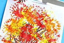 AUTUMN: Activities for children / Craft ideas to do for or with Little Miss H in autumn. #Autumn #fall #kids #toddler #babies #activities