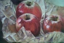 All our work / Oils on canvas by all our ladies