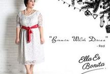 2014 - Christmas & Holiday Season Edition / Vintage Dress for Christmas & Holiday Season which specially designed for sophisticated curvy women originally made by Indonesian Designer & Local Brand: Ella Es Bonita.