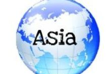 places visited - ASIA