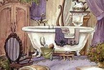 Cuadros baño y cocina