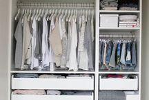 storage. DIY. Clothes