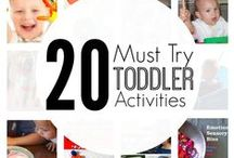 Ultimate activities for toddlers / The ultimate activities to do with children aged over 18 months old. This includes sensory and messy play, arts & crafts, imaginative play, educational and preschool activities.