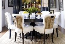 Divine dining rooms / I would adore a dining room like many of these. They are divine and completely swoon worthy. #interiordesign #furniture #diningrooms #decor #DIY