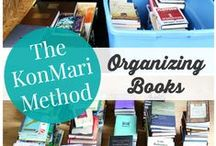 ORGANISATION: The Kon Mari Method / A board full of hints and tips on how to bring the magic of tidying into my home using the KonMari Method. #Konmari #tidying #neat #tidyhome #organisation