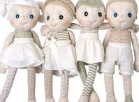 Rubens EcoBuds / Say hello to EcoBuds, Rubens Barn's first handmade dolls in soft organic cotton! EcoBuds love holding hands and exploring the environment, they are nature friendly and would like to be your friend too!