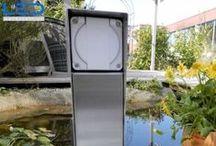 Esocket 350 Energiesäule / Ohne Strom geht nichts. Der Aussenraum ist auch Lebensraum. Erweitere deine Komfortzone in den Garten und nimm die Technik mit. Handy oder Tablett laden während du die Sonne geniesst!