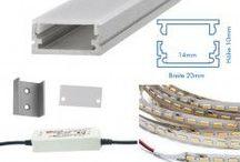 LED Profilleuchten / Ein neuer Trend: LED Profilleuchten nach Mass. Natürlich bieten wir auch solche Lösungen an. Beim Licht setzten wir jedoch auf Qualität, billige Strips verbauen wir nicht!