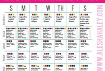 Food charts. Meal plans. Info