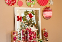 Christmas!! Crafts, cards, vintage images, recipes... / by Gina Johns