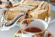 High Tea / a cup of tea and biscuit