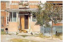 Carl Larsson...public domain / Carl Larsson (Swedish, 1855-1919),  / by Sonja Hannon