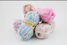 Pretty Baby - Magic Color / Magic color baby yarn