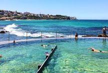 Aussie Beaches / The places you'll find Platypus Australia swimwear getting wet