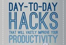 Hacking your daily life / Need an alternative to doing a strenuous and or tedious task? Check out these awesome ideas on how to make your everyday living that much easier!