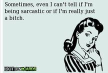 Quotes / contains a lot of sarcasm and cheering quotes