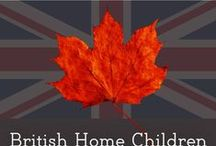 British Home Children / Information relating to Child Migration Schemes relocating impoverished British children to Canada as indentured and domestic servants.  Between 1863 and 1949 over 100k of children were relocated.  1 in 10 Canadians likely descend from BHC.