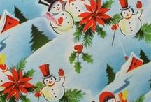 Vintage Wrapping Paper / Vintage and Retro Gift Wrap