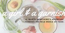 A Girl & A Garnish Blog / A Girl & A Garnish a twenty-something's journey through the wild world of food.