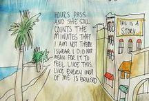 Music & Lyrics / la la la lyrics  / by Margaret Abrams