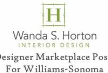 Designer Marketplace - My Articles for Williams-Sonoma / I'm very honored to be a regular contributor to the Designer Marketplace Blog, offered by Williams-Sonoma.  This series is written by interior designers, for interior designers, but I think consumers could enjoy learning a bit more about the process of interior design.  It's a glimpse behind the velvet curtain . . . the good, the challenges, and the desire to make life more  beautiful.