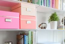 ~ Everything has a Place ~ / Beautiful organizational ideas because I'm obsessed with organizing and cleaning. When in doubt, throw it out.