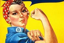 GIRL POWER! / by Bobbie Jo Clark-Cotton