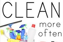 Cleaning and Organizing * / by Brittany Jarboe