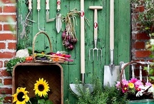 Potting SHeds-Potting Tables-Garden Ideas