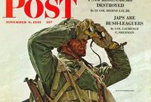 "Art: Vintage Military / Original illustrations, covers, and ads of the U.S. military and servicemen from the archives of The Saturday Evening Post. Vote for your favorite by ""liking"" the image! / by Saturday Evening Post"
