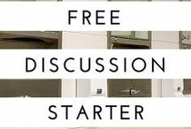 Discussion Starters for Students / Use these FREE discussion starters in your student small groups! Courtesy of Simply Youth Ministry.  / by Simply Youth Ministry