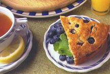 Blueberry Recipes / A daily 3/4-cup serving of frozen wild blueberries—smaller and more flavorful than cultivated ones—helps blood vessels stay pliable. So get wild with the recipes below! / by Saturday Evening Post