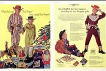 Vintage Christmas Advertising / Give your wife a household appliance. Gift your husband a sense of identity in the form of a hat. Or just enjoy these (sometimes strange) vintage Christmas ads from the pages of The Saturday Evening Post! / by Saturday Evening Post