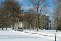 Historic Vanderbilt Mansion Hyde Park NY / This will feature scenes from Historic Vanderbilt Mansion in Hyde Park NY.  Views of the Hudson River, Catskills and lovely trees.