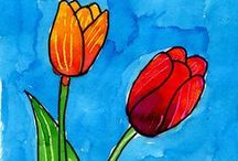 Art - Spring / by Cathy Grant