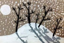 Art - Winter / by Cathy Grant