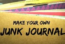 book binding + handmade journals