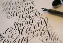 design | lettering | print / by Naimah Urfi