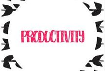 productivity / get productive - workflow - work smarter - save time - work/life balance - business - online content - repurpose - systems - streamlining
