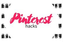 pinterest hacks / Marketing tips and tricks to help you stand out on Pinterest