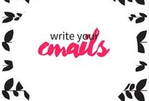 write your newsletter / mailing list - email marketing - newsletter - e-shot - mailchimp - online content - writing tips