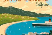 California Dreamin' / California Dreaming - inspiration for travel to the West Coast of America. USA