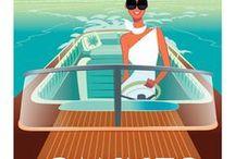 Vintage Travel Posters / Vintage or Vintage Style Travel Posters