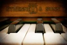 """MuSiCaLLy iNcLiNeD / """"A piano to me is almost an extension of myself and although days may come and go when I do not use it, just having a piano is a certain solace to me and without one I am not quite whole.""""  -Celestia Johnson Taylor, my grandmother / by CarolLynn Gregson"""