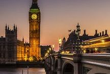 """LoNdOn CaLLiNg / """"...when a man is tired of London, he is tired of life...""""    -Samuel Johnson / by CarolLynn Gregson"""