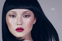 LIV editorial makeup inspo / general collection of makeups that have something pin-worthy