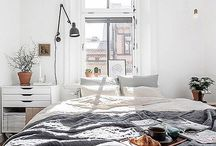 bedrooms / by Eva Morell