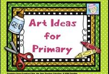 Art Ideas for Primary / This board is full of engaging art activities for the classroom.   / by Teacher Tam