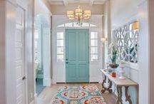 Inside My Palace / Interiors of homes and buildings. Cute ideas and helpful tips!   / by Hannah Flesher
